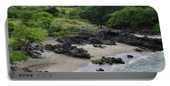 Portable Battery Charger featuring the photograph Wai'ula'ula by Pamela Walton