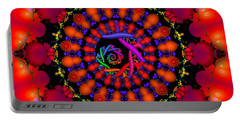 Portable Battery Charger featuring the digital art Wake by Robert Orinski