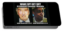 Wake Up Get Out Portable Battery Charger