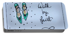 Walk By Faith Portable Battery Charger