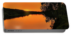 Portable Battery Charger featuring the photograph Walk In Peace by Rose-Marie Karlsen