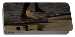 Portable Battery Charger featuring the photograph Walk On Water by Chris Tarpening