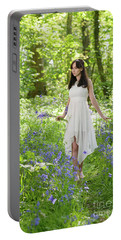 Walk Through The Bluebells Portable Battery Charger