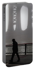 Portable Battery Charger featuring the photograph Walk Thru The Fog... by Anthony Fields