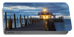Walk To Roanoke Marshes Lighthouse Portable Battery Charger