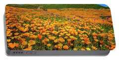 Walker Canyon Wildflowers Portable Battery Charger