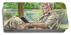 Walker Percy At The Lake Portable Battery Charger