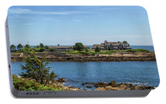 Walkers Point Kennebunkport Maine Portable Battery Charger by Brian MacLean
