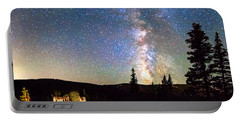 Walking Bridge To The Milky Way Portable Battery Charger