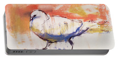 Walking Dove Portable Battery Charger by Mark Adlington