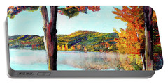 A Walk Down Lake Champlain Portable Battery Charger