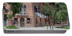 Walking In A Quiet Neighborhood On Murano Portable Battery Charger