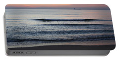 Portable Battery Charger featuring the photograph Walking On Shore by Eric Christopher Jackson