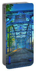 Walking Tall Walnut Street Pedestrian Bridge Art Chattanooga Tennessee Portable Battery Charger