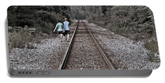 Walking The Tracks Portable Battery Charger