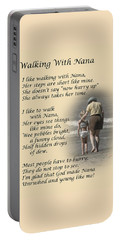 Walking With Nana Portable Battery Charger
