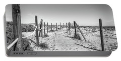 Walkway In The Dunes. Portable Battery Charger
