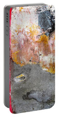 Wall Abstract 151 Portable Battery Charger by Maria Huntley