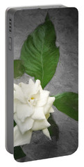 Portable Battery Charger featuring the photograph Wall Flower by Carolyn Marshall