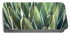 Portable Battery Charger featuring the photograph Wall Of Agave  by Saija Lehtonen