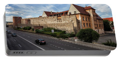 Walled Old Town Of Bratislava Portable Battery Charger