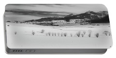 Portable Battery Charger featuring the photograph Wallowa Mountains by Cat Connor