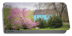 Portable Battery Charger featuring the photograph Walnford In Spring by Kristia Adams