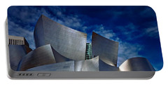 Walt Disney Concert Hall Portable Battery Charger by Anthony Dezenzio