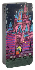 Walt Disney World Cinderrela Castle Portable Battery Charger