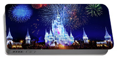 Walt Disney World Fireworks  Portable Battery Charger