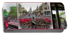 Walt Disney World Transportation 3 Panel Composite 02 Mp Portable Battery Charger