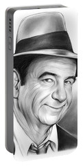 Walter Matthau Portable Battery Charger by Greg Joens