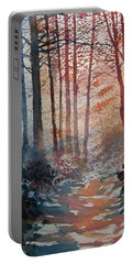 Wander In The Woods Portable Battery Charger