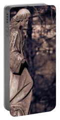 Wandering Lady Of Myrtle Hill Bw Portable Battery Charger
