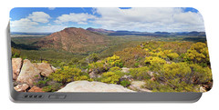 Portable Battery Charger featuring the photograph Wangara Hill Flinders Ranges South Australia by Bill Robinson