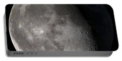 Waning Gibbous Moon Portable Battery Charger