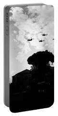 War Helicopters Over The Imperial Fora Portable Battery Charger