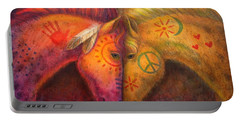Painted Horses Portable Battery Chargers