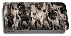 War Horses Portable Battery Charger