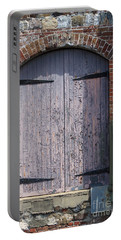 Warehouse Wooden Door Portable Battery Charger