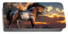 Warhorse Portable Battery Charger by Daniel Eskridge