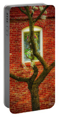 Portable Battery Charger featuring the photograph Warm Bricks by Mitch Shindelbower