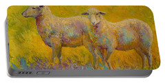 Warm Glow - Sheep Pair Portable Battery Charger