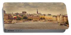 Warm Stockholm View Portable Battery Charger