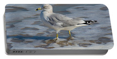 Warm Water Wading Portable Battery Charger by Kenneth Albin