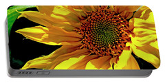 Warm Welcoming Sunflower Portable Battery Charger