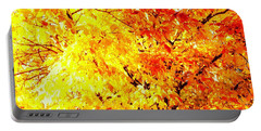Warmth Of Fall Portable Battery Charger
