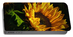 Warmth Of The Sunflower Portable Battery Charger