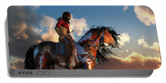 Warrior And War Horse Portable Battery Charger