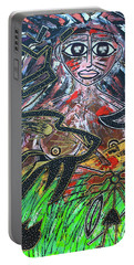 Warrior Spirit Woman Portable Battery Charger